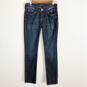 Lucky Brand Zoe Straight Jeans